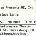 October 30, 2003