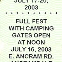July 17-20 2003