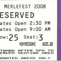 April 24-27, 2008  Merlefest Wilkes Community College