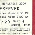 April, 2009  Merlefest Wilkes Community College