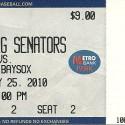 Riverside Stadium Harrisburg, PA Bowie Baysox v. Harrisburg Senators May 25, 2010