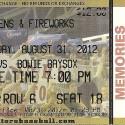 MetroBank Park Harrisburg, PA Bowie Baysox v. Harrisburg Senators August 31, 2012