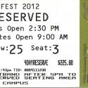 April 26-29, 2012  Merlefest Wilkes Community College