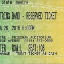January 16, 2016  Yonder Mountain Striing Band  State Theatre   State College, PA