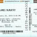 February 2, 2019   James McMurtry   Elk Creek Brewery  Millheim, PA