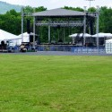 Delfest Meadow Stage and meadow
