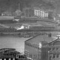 Exhibition Park,   Pittsburgh north shore.   First pro baseball stadium