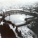 Forbes Field from Cathedral of Learning   circa 1960