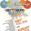 Gettysburg Bluegrass Festival Holiday card 2011