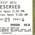 April 26-29, 2012   Merlefest 2012  Wilkes Community College,  Wilkesboro, NC