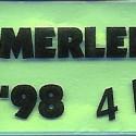 Merlefest 1998 wristband