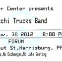 November 30, 2012  Tedeschi Trucks Band  Hershey Theatre  Hershey, PA