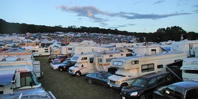 Winterhawk Bluegrass Festival Parking Lot Camping!