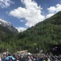 Looking Across the Concert Field  